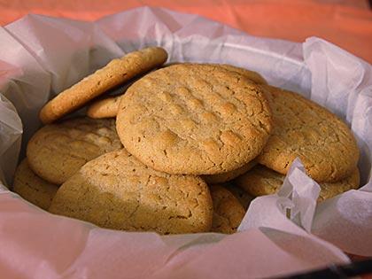 Μπισκότα φιστικοβούτυρου