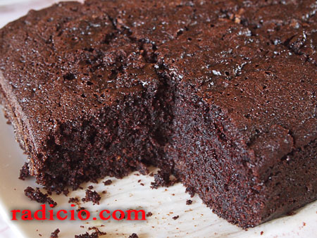 Κέικ με καφέ και κακάο