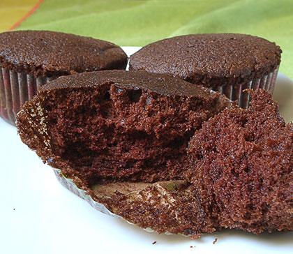 Μάφιν σοκολάτας