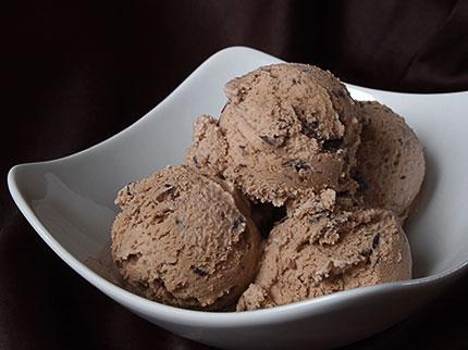 Παγωτό μόκα σοκολάτα
