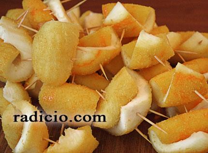 Γλυκό περγαμόντο τύλιγμα φλούδας