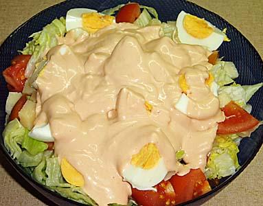 Σαλάτα του chef (σεφ)