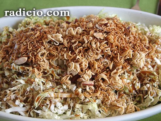 Σαλάτα με κινέζικο λάχανο