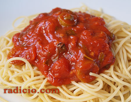 Σάλτσα ντομάτα, βασική συνταγή
