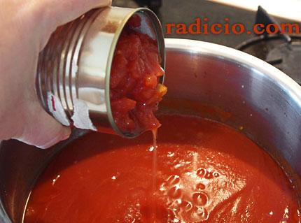 σάλτσα ντομάτα