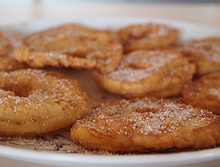 Μήλα τηγανίτες
