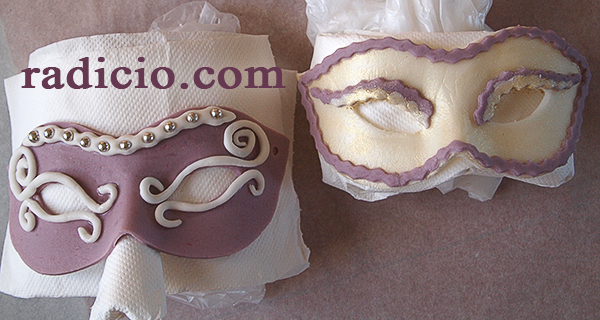 μάσκες ζαχαρόπαστας
