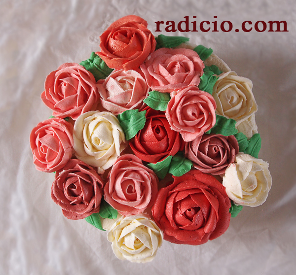 Τούρτα τριαντάφυλλα